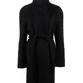Black Alpaca Coat