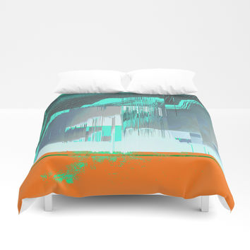 RAIN on the FOREST Duvet Cover by duckyb