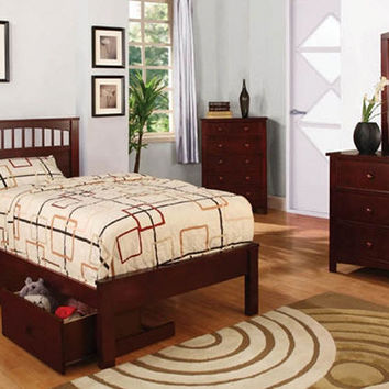 Brown and Gilley Twin Size Platform Bed