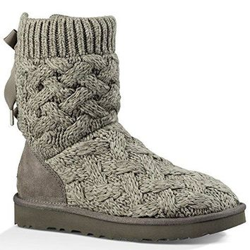 UGG Australia Womens Isla Fabric Round Toe Mid-Calf Cold Weather Boots  UGG boots
