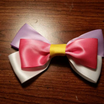 Handmade Disney's Daisy Duck inspired Hair bow