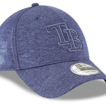 MLB Tampa Bay Rays New Era 2018 Clubhouse 39THIRTY Hat