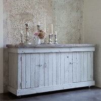 Rachel Ashwell Shabby Chic Couture Carmine Cabinet Grey