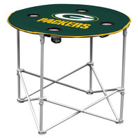 Green Bay Packers Round Tailgate Table
