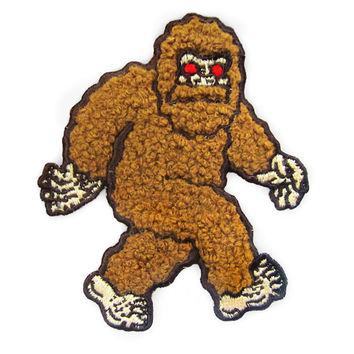 Bigfoot Chenille Patch