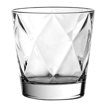Majestic Gifts E61607-S6 Quality Glass Double Old Fashioned Tumbler 11 oz. Set of 6