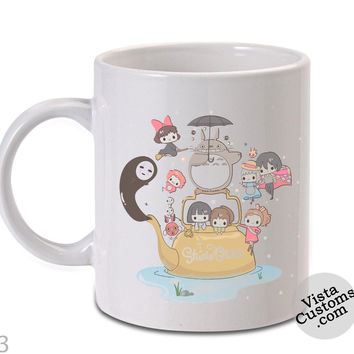 studio ghibli month poster Mug, Coffee mug coffee, Mug tea, Design for mug