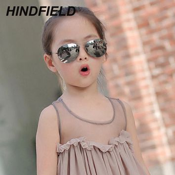 2017 Kids Sunglasses for Children Fashion Boys Girls Baby Child 90's Aviator Sun Glasses Infant UV400 lunette de soleil enfant