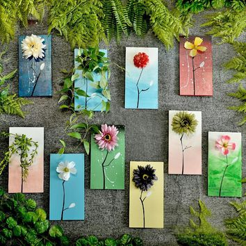 HANDMADE WOODEN PLANT BOARD WALL HANGING