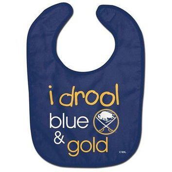 Licensed Buffalo Sabres Official NHL Infant One Size Baby Bib by McArthur 219497 KO_19_1