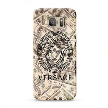 versace logo money Samsung Galaxy J7 2015 | J7 2016 | J7 2017 case