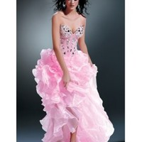 Unique A-line Sweetheart High Low Prom Dress with Ruffle [dressca7767] - £127.79 : dressca.com!, custom made wedding dresses