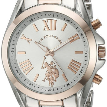 U.S. Polo Assn. Women's Quartz Metal and Alloy Automatic Watch Color:Two Tone...