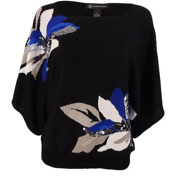 INC International Concepts Women's Embellished Sweater