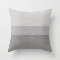 classic - the grays Throw Pillow by Her Art