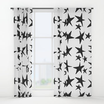 Starry Night Window Curtains by All Is One