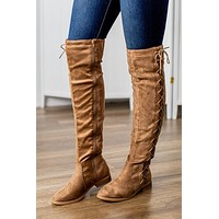 Brodie Knee High Boots-Taupe
