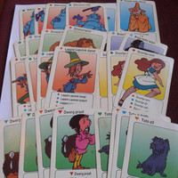 vintage Wizard of oz   dutch Quartet card game