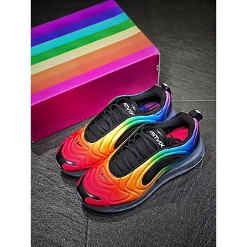 """NK Air Max 720 """"Be True""""Atmospheric pad running shoes"""