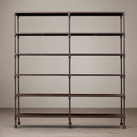 Dutch Industrial Wide Shelving