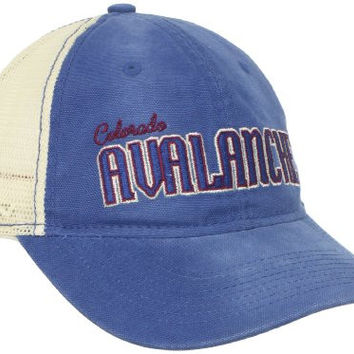 NHL Colorado Avalanche Women's Slouch Mesh Snapback Adjustable Hat, One Size