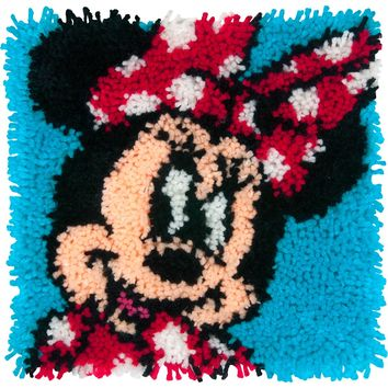 "Minnie Mouse Disney Latch Hook Kit 12""X12"""