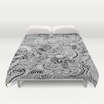 Love Within Duvet Cover by DuckyB (Brandi)