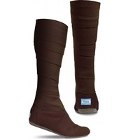 Chocolate Vegan Wrap Boots | TOMS.com