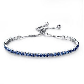 Blue Line Police Support Luxury Bracelet