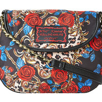 Betsey Johnson Rosey Mix Up Cross Body