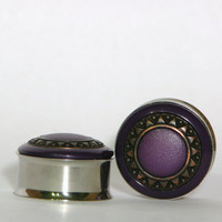 Purple Sun Plugs 7/8 Inch 22mm SALE
