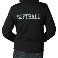 SOFTBALL HOODY from Zazzle.com