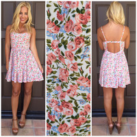 Primrose Floral Printed Summer Dress