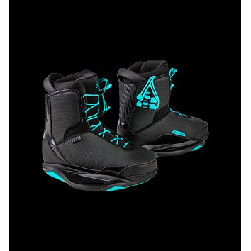 2020 Ronix Signature Women's Wakeboard Boots - Black / Turquoise