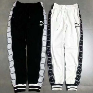 PUMA Fashion Style Casual Knitted Couples Trousers F-ZDL-STPFYF