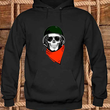 Skull army Hoodies Hoodie Sweatshirt Sweater Shirt black white and beauty variant color Unisex size