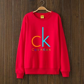 Calvin Klein Fashion Casual Top Sweater Pullover