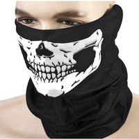 Motorcycle Skull Ghost Face Windproof Halloween Scarf Mask