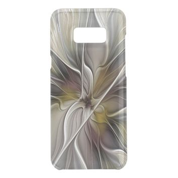 Floral Fractal, Fantasy Flower with Earth Colors Get Uncommon Samsung Galaxy S8 Plus Case