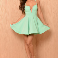 Gabriella Dress - Mint