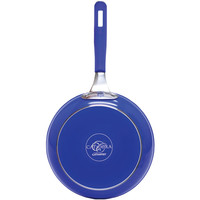 "Cat Cora 11"" Forged Pan (blue)"