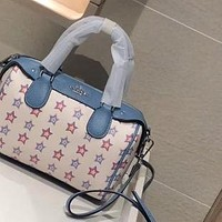 COACH 2020 new simple and fashionable women's pillow bag crossbody bag