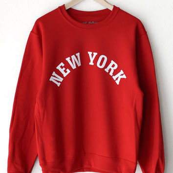 New York Oversized Sweater