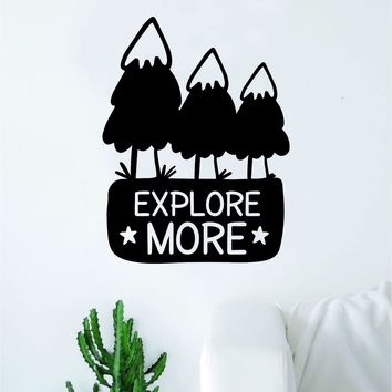 Explore More Decal Sticker Wall Vinyl Art Wall Bedroom Room Home Decor Inspirational Teen Nursery Travel Adventure