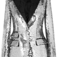 Dolce & Gabbana - Sequined crepe blazer