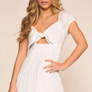 Emma Dress - White