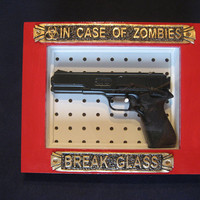 in case of zombies by DVLovelace on Etsy