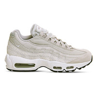 NIKE Air Max 95 leather and mesh sneakers