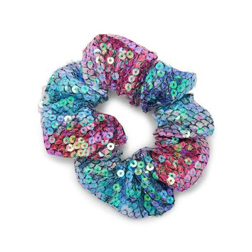Sequined Mermaid Scrunchie