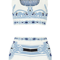 Emilio Pucci - Cotton-blend jacquard coverup